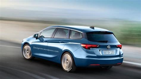 opel astra wagon opel astra k wagon and sedan already rendered