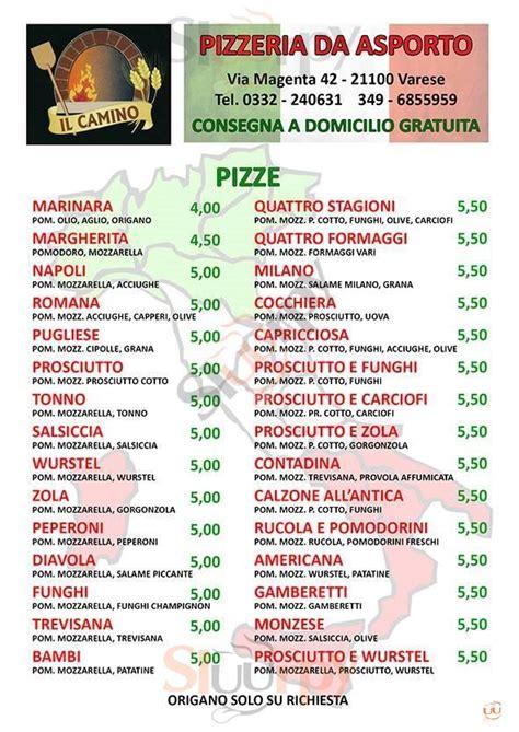 camino menu il camino varese sfoglia il 249 originale