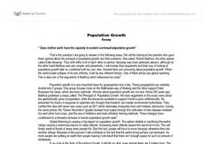 Can We Save Planet Earth Essay by Population Essay Does Earth The Capacity To Sustain Continued Population Growth
