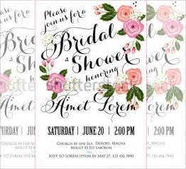 Bridal Shower Templates by 25 Bridal Shower Invitations Templates Psd Invitations