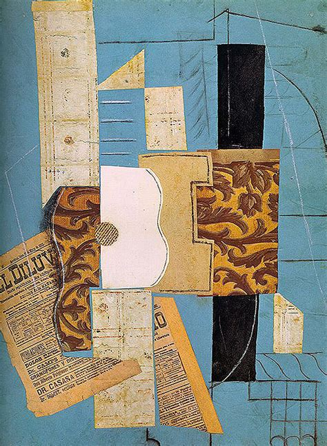 pablo picasso paintings guitar pablo picasso guitar 1913