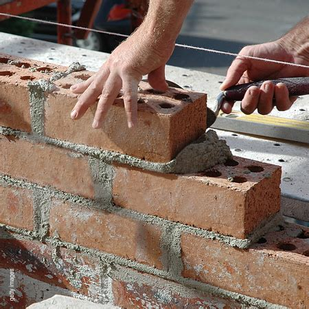 Home Dzine Home Diy Basic Bricklaying Skills