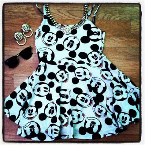 Dress Mickey Black dress mickey mouse dress disney disney disney