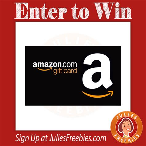 Amazon Gift Card For Less - win 1 of 3 amazon gift cards julie s freebies