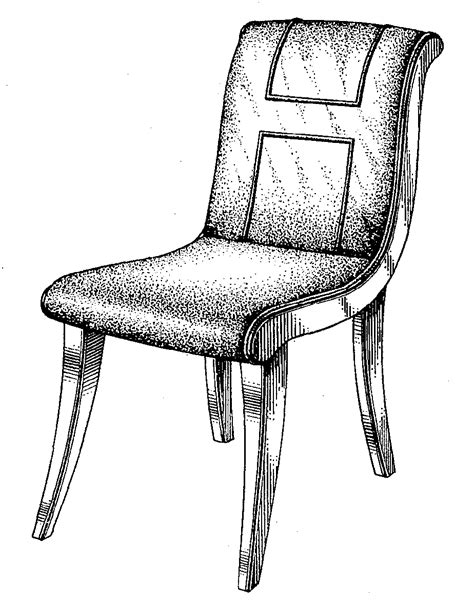 how to draw a armchair drawn chair line drawing pencil and in color drawn chair