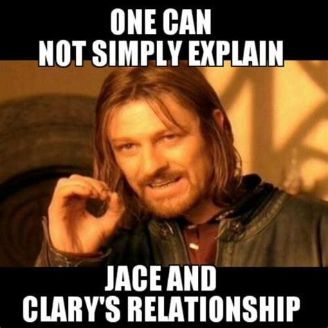 Cassandra Meme - cassandra clare finally a boromir meme for tmi i ve been