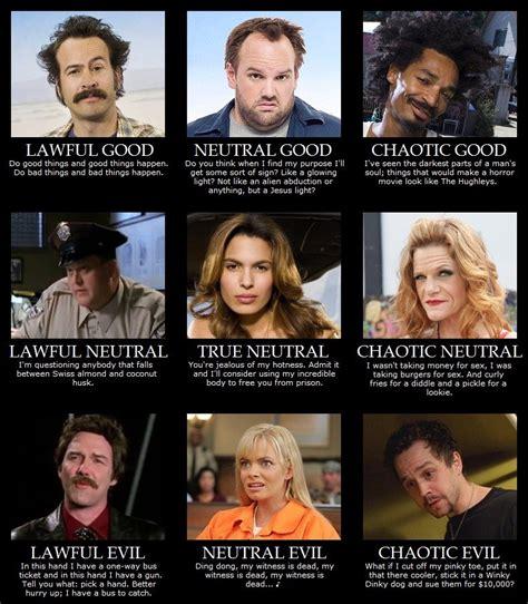 My Name Is Earl Memes - my name is earl alignment chart random pinterest