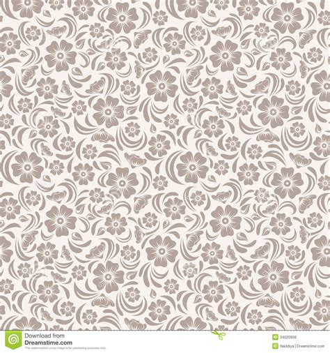 pattern seamless design seamless vintage floral pattern stock vector image