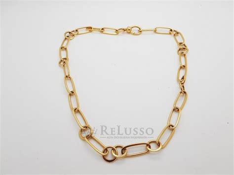 pomellato catene catena pomellato collezione gold in oro rosa 18 kt