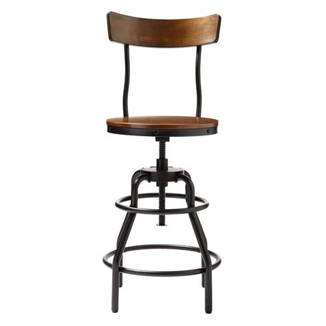 home decorators collection bar stools home decorators collection industrial mansard adjustable