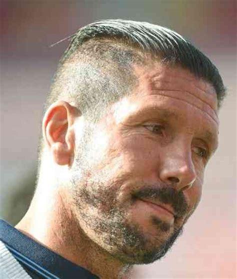 diego simeone hairstyle diego simeone new slicked back undercut in 2 step haircut