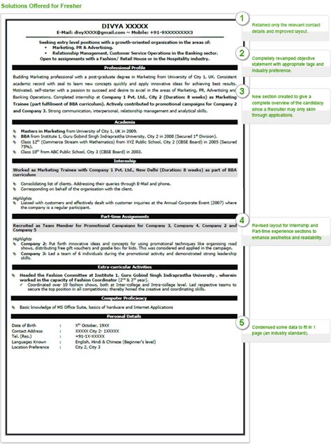 Accenture Resume Tips Six Easy Tips To Create A Winning Resumebusinessprocess Resume Format For Engineering Completed