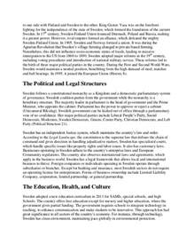 Academic Research Essay by Academic Research Paper On Sweden