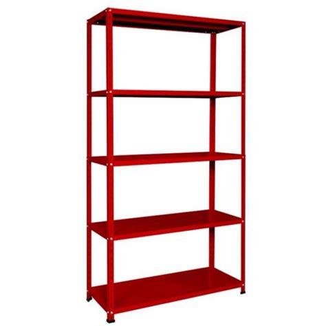 scaffale ufficio scaffale in acciaio rosso