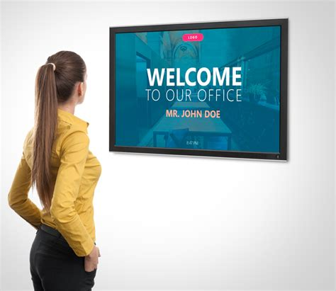 Powerpoint Digital Signage 10 Reasons Why Presentationpoint Tv Signage Templates