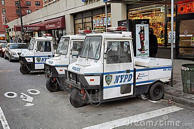 Electric Vehicles In New York City Nypd Electric Cars Editorial Stock Photo Image 11102008