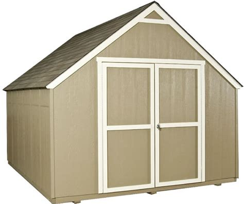 handy home marco  gable wood storage shed kit