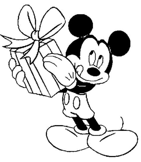 mickey mouse happy birthday coloring page learning through mickey mouse coloring pages