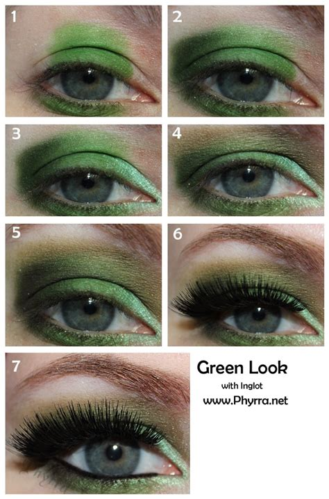 tutorial eyeshadow green green eyeshadow tutorials trusper
