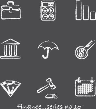vector pencil design elements vector icons sketch in pencil design elements free vector
