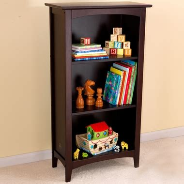kidkraft avalon bookshelf in espresso free shipping