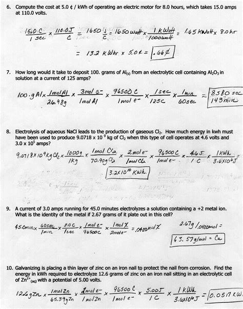 Thermochemistry Worksheet With Answers by Potential And Kinetic Energy Worksheets Middle School