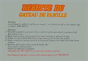 Recette Gateau The Brun