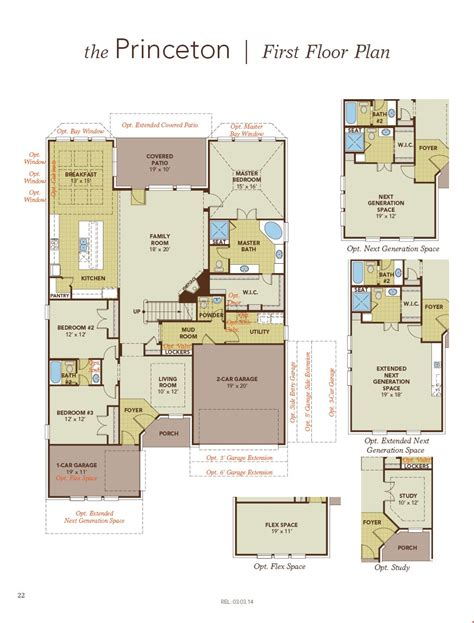 princeton floor plans princeton home plan by gehan homes in westwood