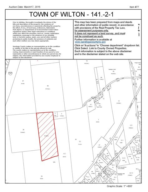Saratoga County Property Records Saratoga County Land Auction Is March 17 The Saratoga