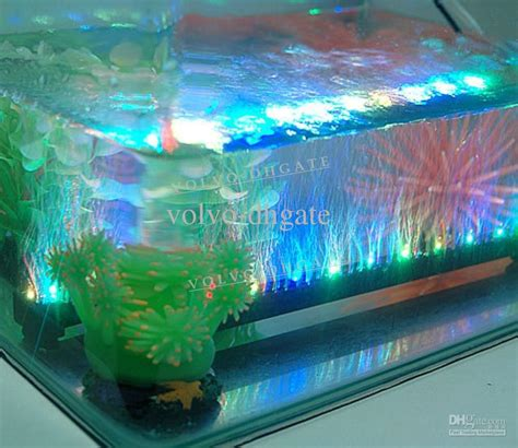 Led Aquarium Lighting multi color led aquarium light 12 leds 1 5w 31cm led fish