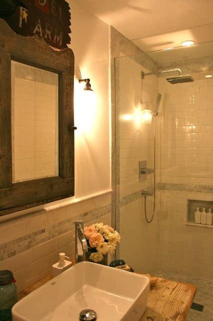 Modern Country Bathrooms Modern Country Bathroom Eclectic Bathroom Los Angeles By Kelley Company Home