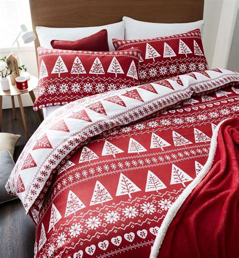 Duvecover Set 200x200 Kingkoil Cotton 4 nordic trees duvet quilt cover set festive bedding grey single king ebay
