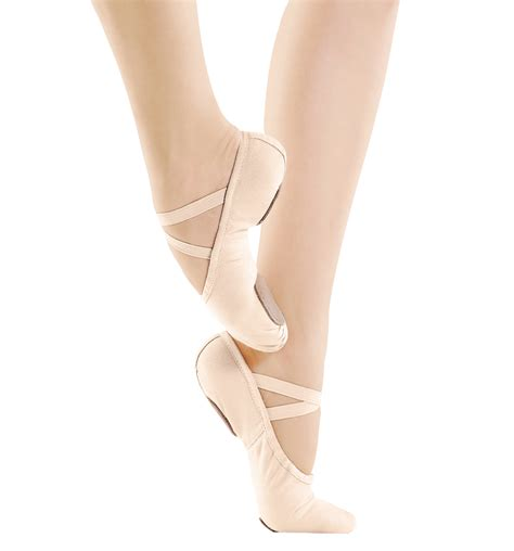 ballet slippers canvas split sole ballet slippers shoes discountdance