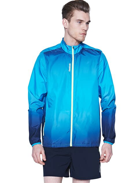Sweater Jaket Hoodie Reebok Keren Terlaris 1 reebok reebok mens running jacket in blue for lyst