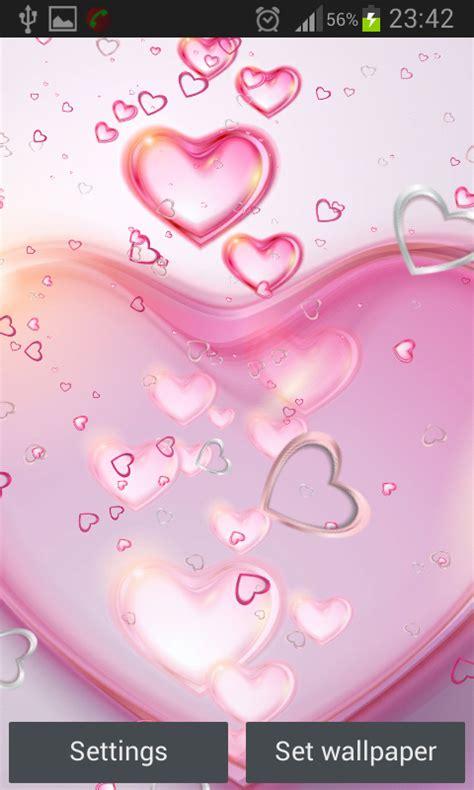 wallpaper animasi pink download gratis hati pink gambar animasi gratis hati pink