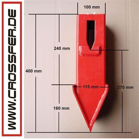 Spaltkeilverl 228 Ngerung F 252 R Den Holzspalter Hsp 10t Mit