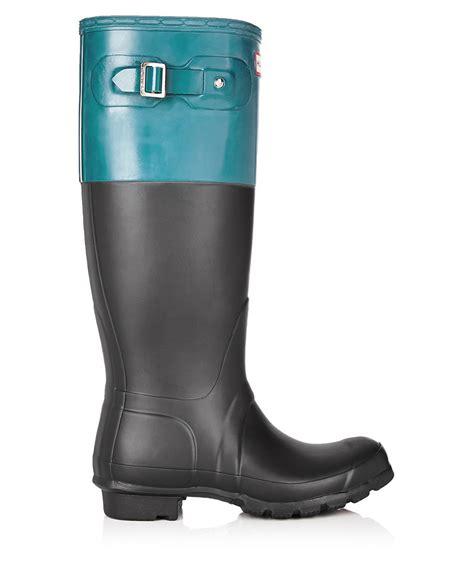 matte black wellies discount black blue matte wellington boots secretsales