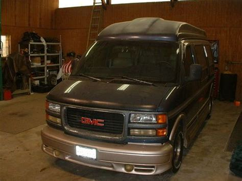 how to work on cars 1996 gmc savana 2500 parking system buy used 1996 gmc savana explorer high top conversion van in naperville illinois united states