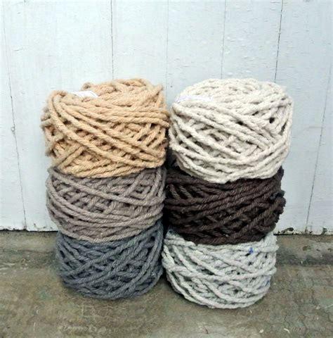 100 cotton rug yarn dyed cotton rug yarn colors ecru brown by