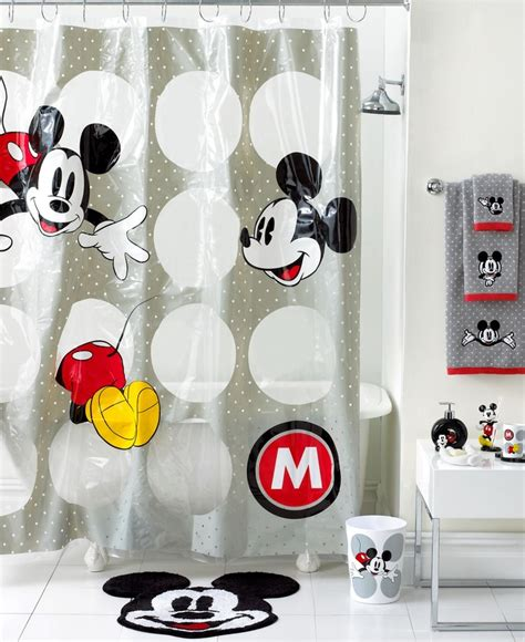 mickey minnie bathroom set disney bath disney mickey mouse collection