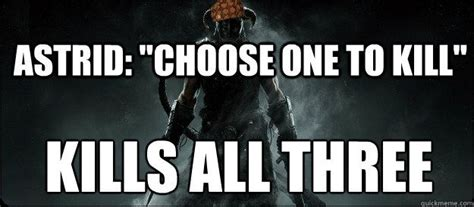 Dragonborn Meme - i m really glad i wasn t the only one who killed all three