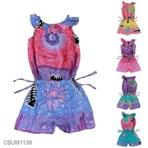 Jumpsuit Anak Size S jumpsuit anak motif ikan pelangi size s jumpsuit murah