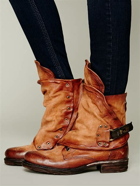 free ankle boots free emerson ankle boot in brown lyst