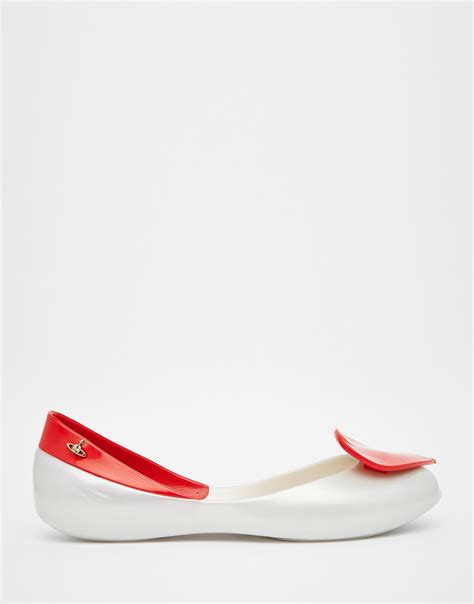 vivienne westwood flat shoes lyst vivienne westwood anglomania pearl