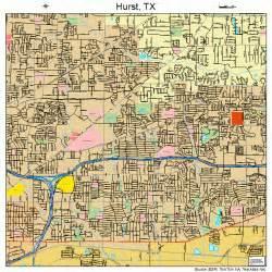 map hurst hurst map 4835576