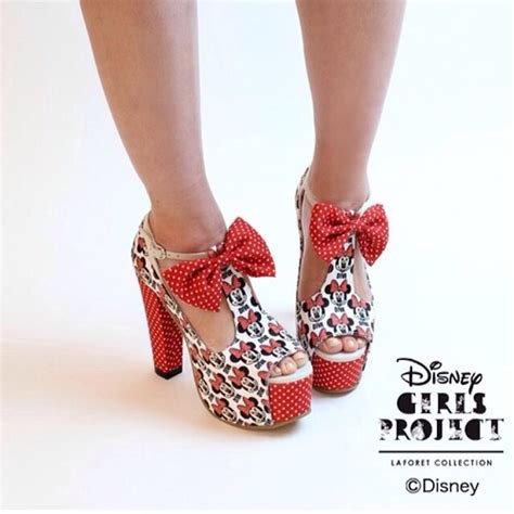 shoes mickey mouse high heels summer