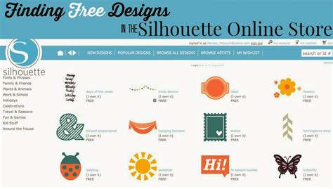 design online free 10 places to find free silhouette cut files silhouette