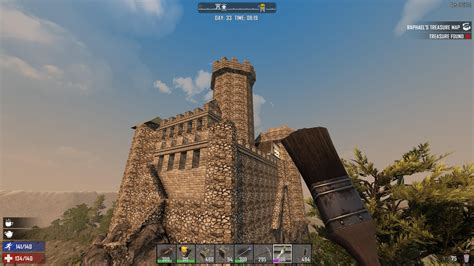 Painting 7dtd by Development On Quot I M Progress On My Castle