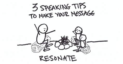 3 speaking tips to make sure your message resonates