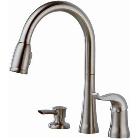 delta faucet 16970 sd dst kate single handle pulldown kitchen pull out spray faucet atg stores delta 16970 sssd dst single handle pull down kitchen